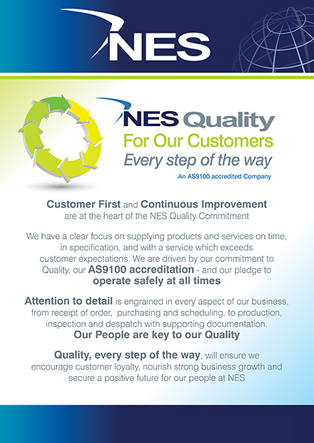 Quality for our Customers - Every step of the way